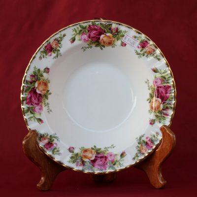 Πιάτο Βαθύ πορσελάνης Old Country Roses Royal Albert 21 εκ