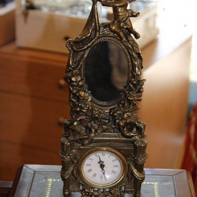 Ρολόι μπρούτζινο με καθρέφτη