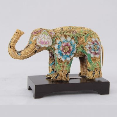 Ελέφαντας Φιλιγκράν cloisone 13,5 χ7 εκ.