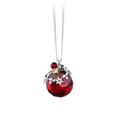 Κόκκινο Χριστουγεννιάτικο Στολίδι Christmas Ornament Swarovski