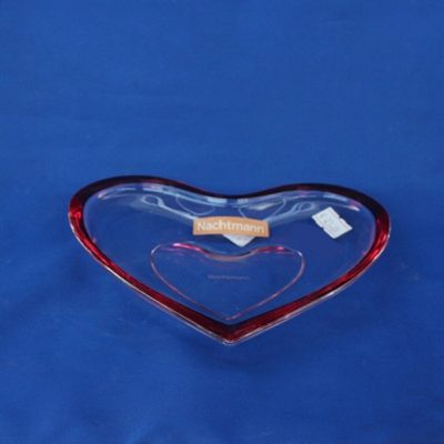 Πιάτο Καρδιά κρύσταλλο Nachtmann