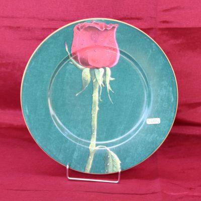 Πιάτο HENRIETTE κόκκινο τριαντάφυλλο