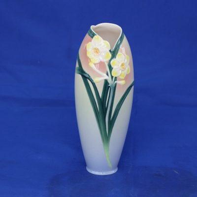 Βάζο Πορσελανης FRANZ με λουλούδια
