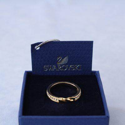 Δαχτυλίδι CURLY(GOLD) κόσμημα Swarovski