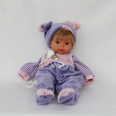 Ισπανική κούκλα μωρό από βινύλιο 38 cm LIorens