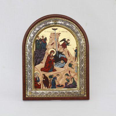 Η Γέννηση του Χριστού απο χρυσό και ελληνικό ασήμι