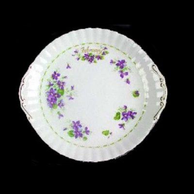 Royal Albert Flower of the month πιατέλα κέικ Φεβρουάριος