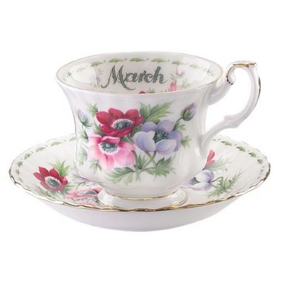 Royal Albert Flower of the month φλιτζάνι τσαγιού Μάρτιος