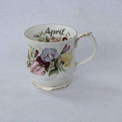 Royal Albert πορσελάνη Flower of the month κούπα Απρίλιος