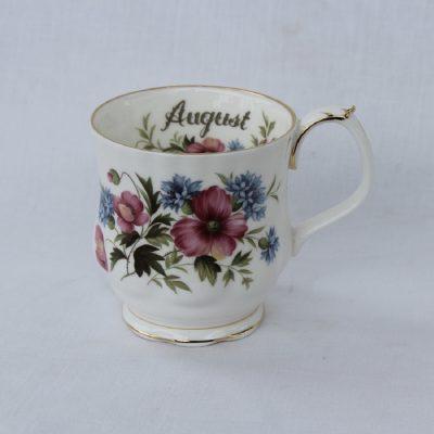 Royal Albert πορσελάνη Flower of the month κούπα Αύγουστος