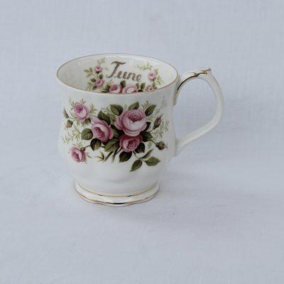 Royal Albert πορσελάνη Flower of the month κούπα Ιούνιος