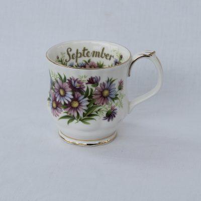 Royal Albert πορσελάνη Flower of the month κούπα Σεπτέμβριος