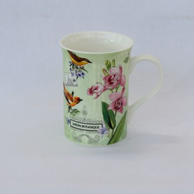 Κούπα από πορσελάνη Γερμανίας με ροζ λουλούδια
