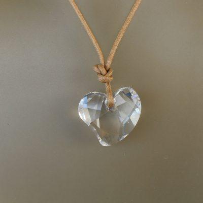 Heart New Κολλιέ Swarovski κόσμημα