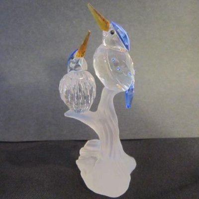 Αλκυόνες κρύσταλλο Swarovski Silver Cristal 623 323