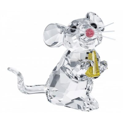 Ποντικάκι με τυρί Swarovski Silver Crystal 5 004 691