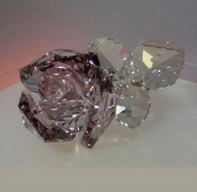 Ανθισμένο τριαντάφυλλο Swarovski Crystal Nature
