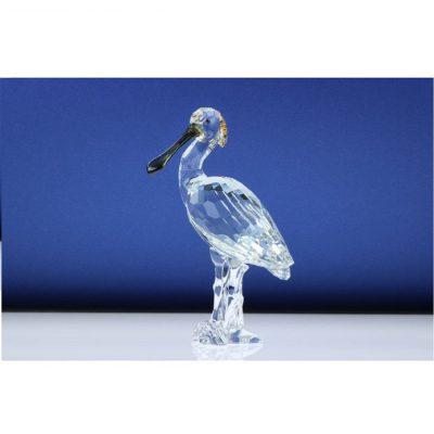 Πουλί χουλιαρομύτα Swarovski Silver Crystal