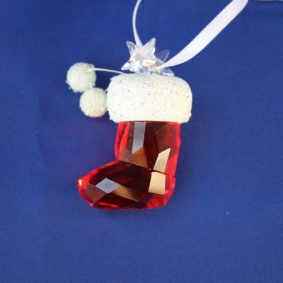 Santa's stoking Swarovski (Η κάλτσα του Άγιου Βασίλη)