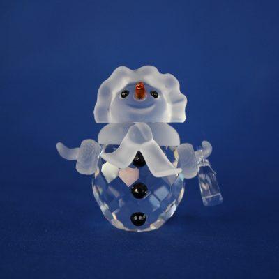 Κυρία Χιονάνθρωπος Swarovski silver crystal (Snow woman)