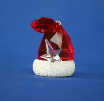 Santas Hat Swarovski κρυστάλλινος σκούφος του Άγιου Βασίλη