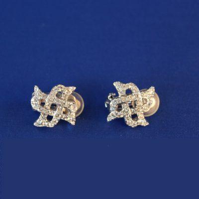 Υπέροχο κόσμημα σκουλαρίκια Diamanta Swarovski με κλιπ