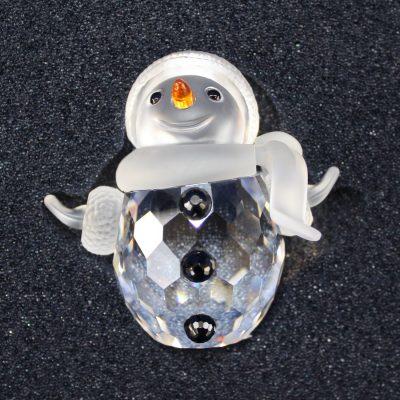 Κρυστάλλινος Χιονάνθρωπος (Snowman) Swarovski silver crystal
