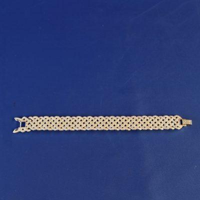Βραχιόλι Diamanta διακοσμημένο με κρύσταλλο Swarovski