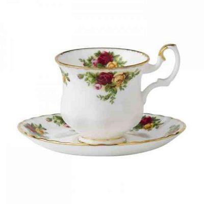 Φλυτζάνι καφέ mocca Royal Albert Old Country Roses