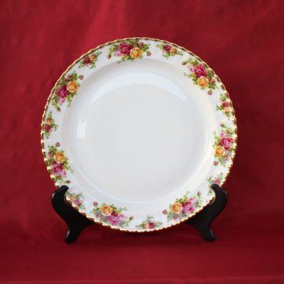 Πιατέλα Στρογγυλή από πορσελάνη Old Country Roses Royal Albert
