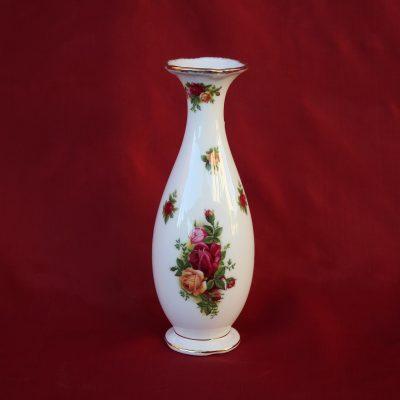 Bάζο μικρό πορσελάνης Royal Albert Old Country Roses