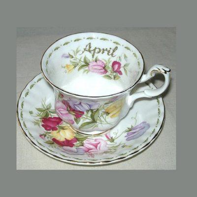 Φλιτζάνι τσαγιού Απρίλιος Royal Albert Flower of the month