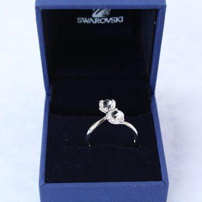Δαχτυλίδι LUDMILLA (RODIUM) κόσμημα Swarovski