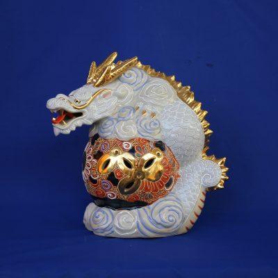 Δράκος ιερό σύμβολο Ιαπωνίας από Πορσελάνη Kutani