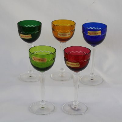Ποτήρια Λικέρ CORTINA Nachtmann Κρύσταλλο σε χρώμα σετ 5 τεμ