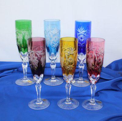 Ποτήρια Flute ούζου-σαμπάνιας Traube Nachtmann σετ 6 τεμ
