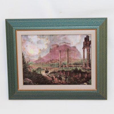 Αθήνα -1870 Γκραβούρα συλλεκτική σε πορσελάνη