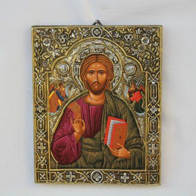 Εικόνα του Χριστού Καρφωτή απο ελληνικό ασήμι 925ο