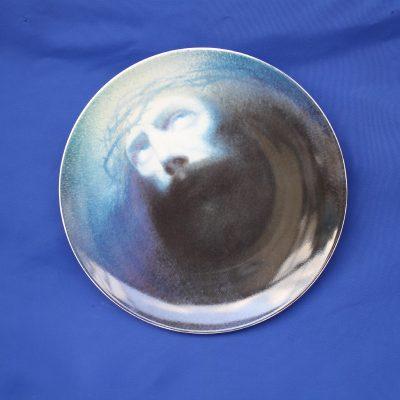 Ο Χριστός του Παρθένη. Συλλεκτικό Πιάτο πορσελάνης