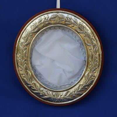 Στεφανοθήκη σχέδιο κλαδιά ελιάς Ελληνικό Ασήμι 925° .
