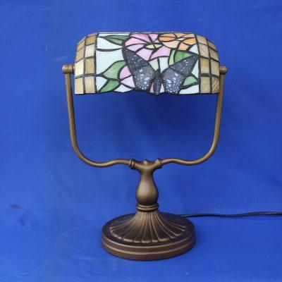 Φωτιστικό γραφείου με σχέδιο πεταλούδα(τύπου Tiffany's)