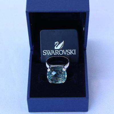 Δαχτυλίδι AQUAMARIN κόσμημα Swarovski κωδικός 684 361