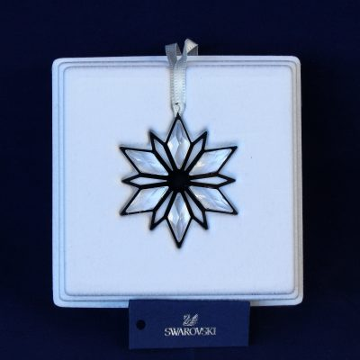 Στολίδι Χριστουγέννων Silver Star Swarovski