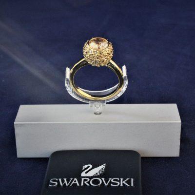 Δαχτυλίδι FLIRT (GOLD) Μέγεθος 52 Swarovski