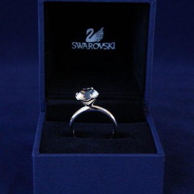 Δαχτυλίδι HARLEQUIN (RODIUM) μέγεθος 52 κόσμημα Swarovski