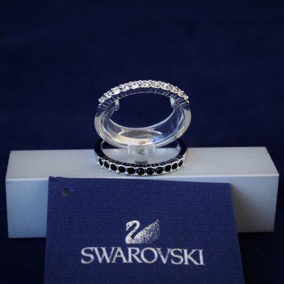 Δαχτυλίδια Σετ2 ΜΙΧ μέγεθος 52 κόσμημα Swarovski