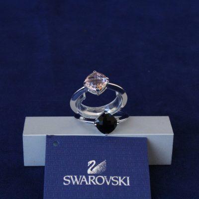 Δαχτυλίδια σετ 2 LEA (VROS-JET) Swarovski