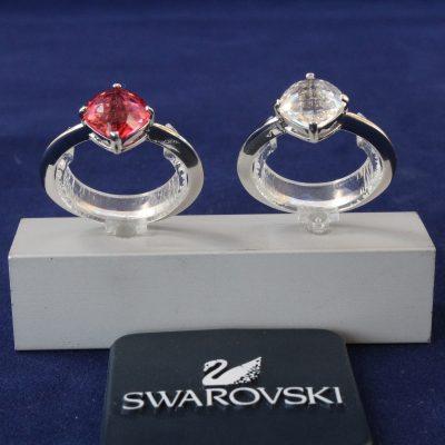 Δαχτυλίδια σετ 2 LEA(CRY-INPI) Swarovski