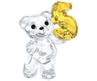 kris Bear 'Number Five' 5 Swarovski characters