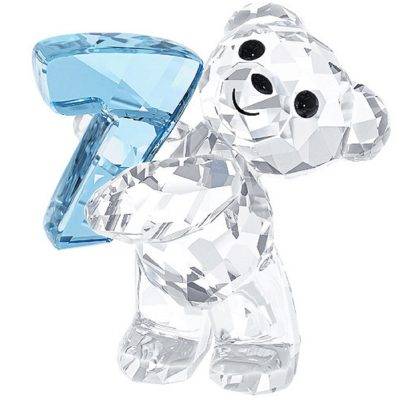 kris Bear 'Number Seven' Swarovski characters